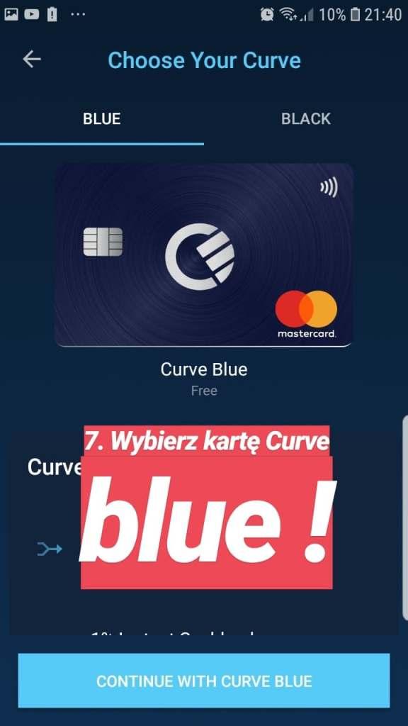 Promocja Curve - Zarobek 25zł + 25zł za polecenie + 1% cashback 7