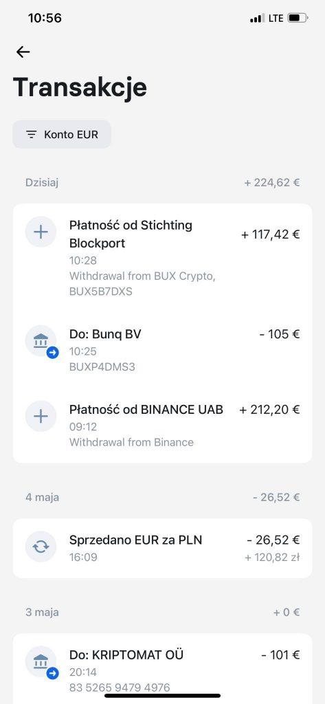 getbuxcrypto promocja 55 euro bonusu