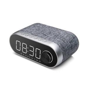 Bluetooth zvucnik Remax Alarm Clock RB-M26 srebrni
