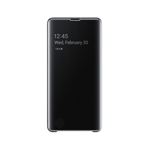 Samsung Maska Clear View flip za Galaxy S10+ crna (EF-ZG975-CBE)