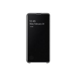 Samsung Maska Clear View flip za Galaxy S10 Lite crna (EF-ZG970-CBE)