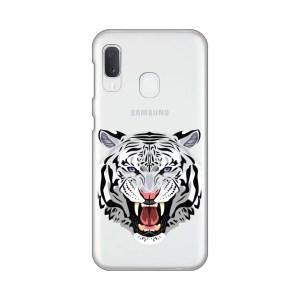 Maska Silikonska Print Skin za Samsung A202F Galaxy A20e Mad Tiger