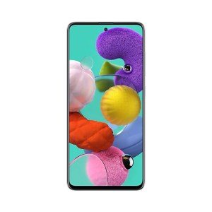 "Samsung Galaxy A51 (4GB/128GB, Prism Crush White, 6.3"", Dual SIM, 48MP)"