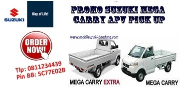 Promo Kredit Murah Suzuki Mega Carry Apv Pick Up Bandung