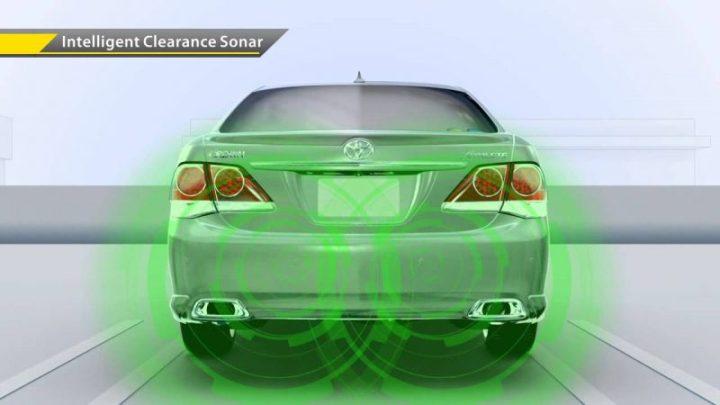 teknologi intelligent clearance sonar Toyota