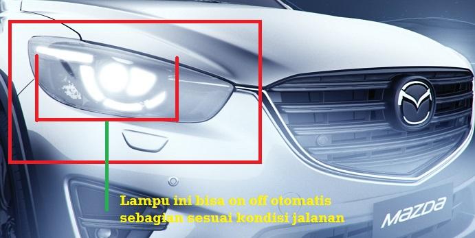 desain lampu mazda dengan teknologi ALH
