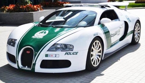 mobil polisi tercepat di dunia