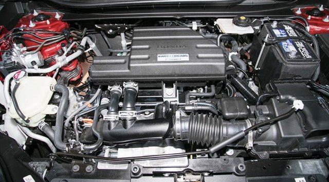 gambar mesin honda C-RV Turbo 1500 cc