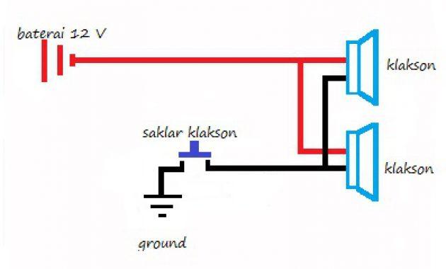 cara pasang relay klakson