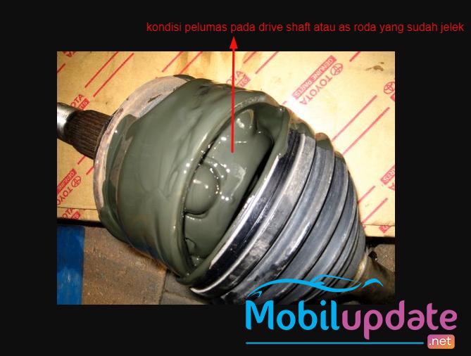 cara mengganti pelumas grease pada drive shaft