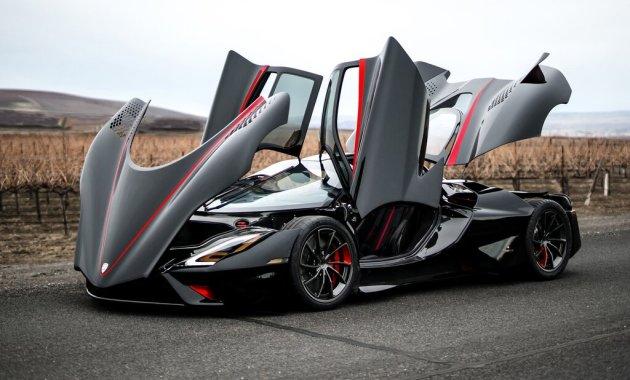 mobil tercepat di dunia 2020