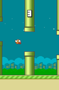 Flappy bird for Android   Download APK free Screenshots of the Flappy bird for Android tablet  phone