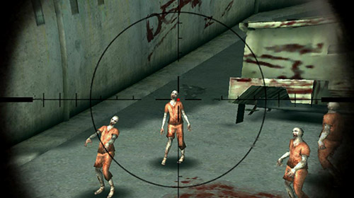Screenshots of the Zombie sniper 3D shooting game: The killer for Android tablet, phone.