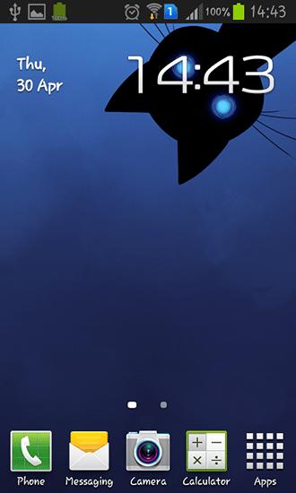 Stalker cat на Андроид скачать бесплатно Живые обои для