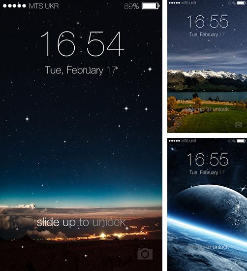 Живые обои С часами на Андроид Скачать бесплатно живые