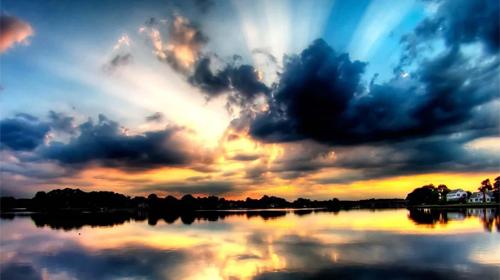 Sunset sunrise 4D на Андроид скачать бесплатно Живые