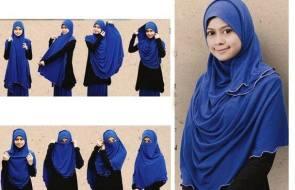 cara memakai jilbab 2015