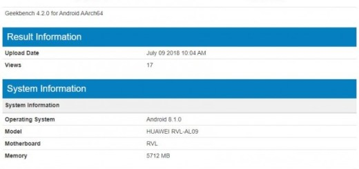 Huawei Honor Note 10 spotted at Geekbench