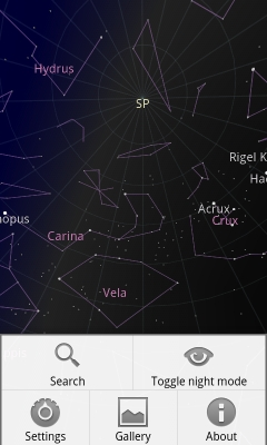 Google Sky Map for Android adds Hubble Image Gallery - mobi on