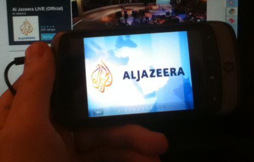 Al Jazeera LIVE app for Android - mobiputing