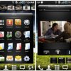 Claystone launcher for Android mixes 3D interface, media bar