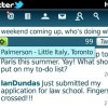Twitter 1.1 for BlackBerry adds geolocation