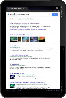 Google Tablet search
