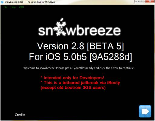 Sn0wbreeze 2.8 beta 5