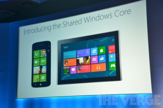 Windows Phone 8 shared core