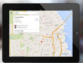 Google Maps 2.0 dostępne również na iPada