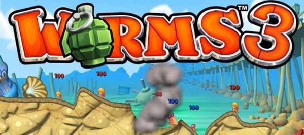 Worms 3 dostępne wyłącznie na iOS-a