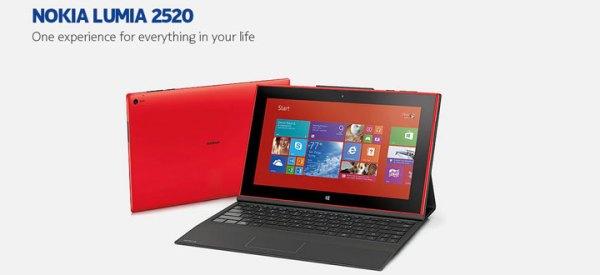 Nokia Lumia 2520 – pierwszy tablet Finów
