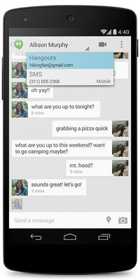 Hangoutsy Android