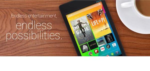 Google Nexus 7 – nowe reklamy