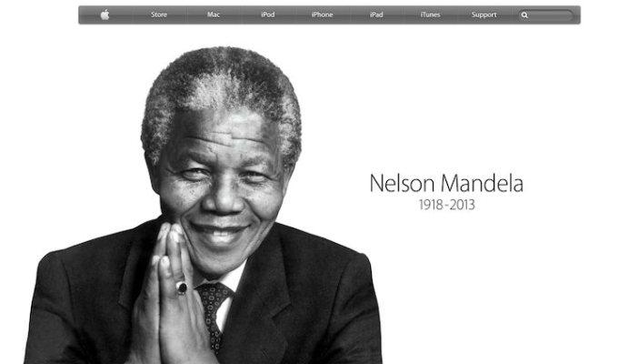 Nelson Mandela Apple.com