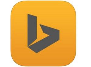 Bing na iPada z zakładkami SkyDrive'a