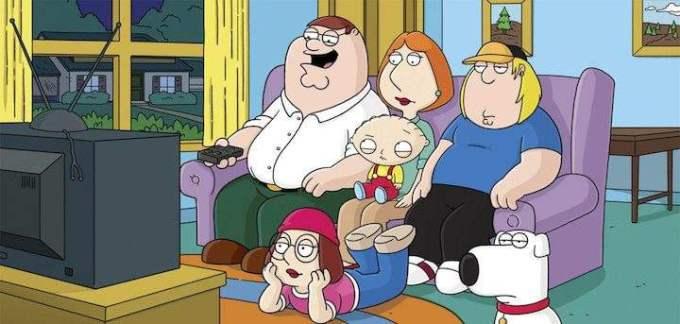 Family Guy header