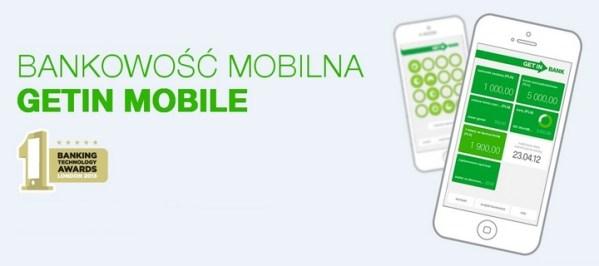 Getin Mobile z opcją przechowywania paragonów