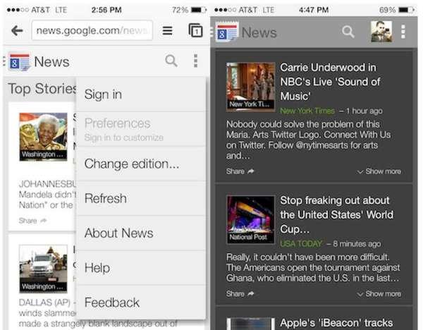 Google News w odświeżonej wersji na iOS-a i Androida