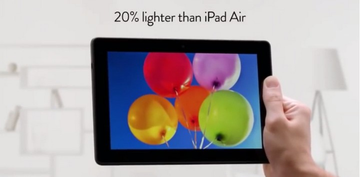 Kindle Fire HDX 8.9 reklama