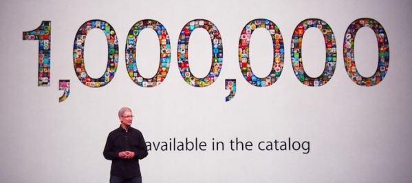 W amerykańskim sklepie App Store jest już ponad milion aplikacji