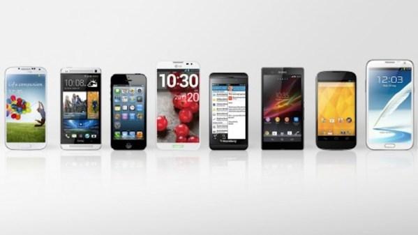 5 najlepszych smartfonów w 2013 roku