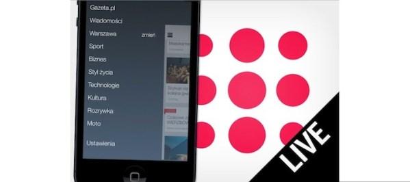 Gazeta.pl LIVE na iOS-a