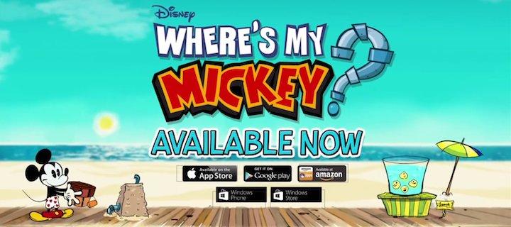 Where's my Mickey?