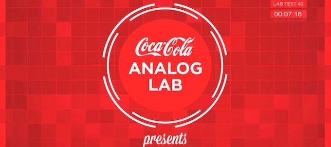 Coca-Cola Analog Lab