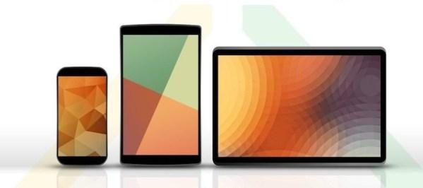 Nexus 5, 8 i 11 na ciekawych wizualizacjach
