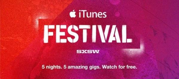 iTunes Festival SXSW odbędzie się w USA