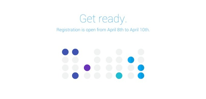 Google I/O 2014 - rejestracja