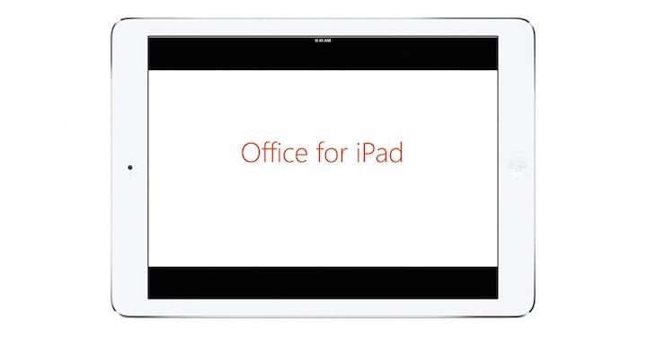Office na iPada