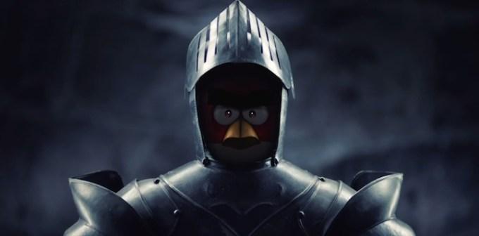Angry Birds w średniowiecznym stylu